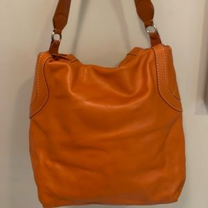 Orange Michael Kors Purse